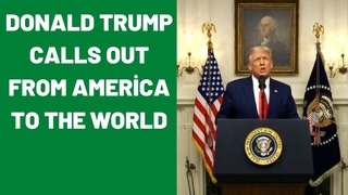 Donald Trump calls out from America to the World