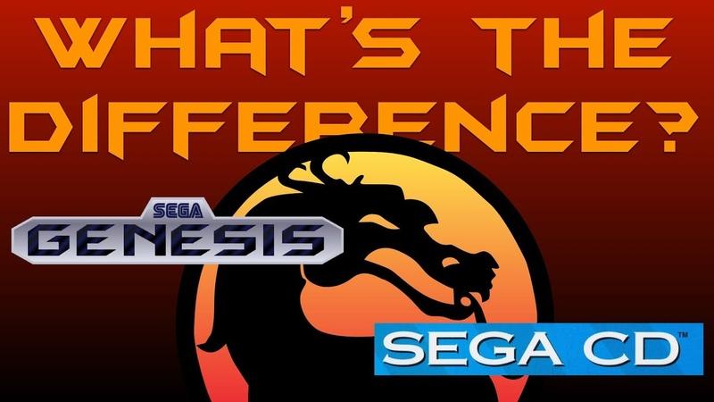 What's the Difference Mortal Kombat Sega Genesis vs Sega CD