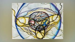 Нейрографика. Ясная Сила Рода. Рисунки артмарафона