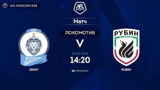 AFL20. Russia. National League. Day 22. Zenit-2 (16:2) Rubin