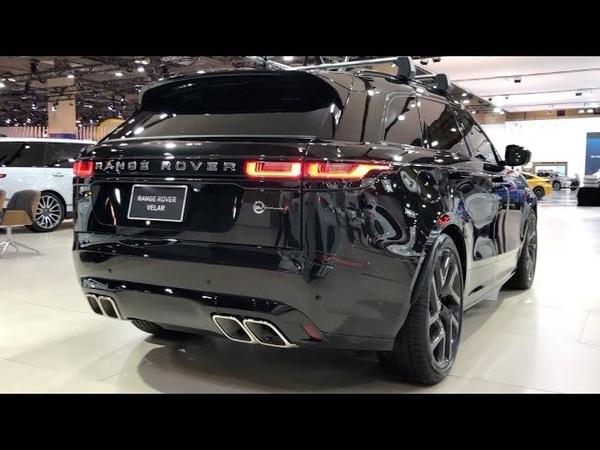 2020 Land Rover Velar SV Autobiography Carbon Black Metallic 550HP | In-Depth Video Walk Around
