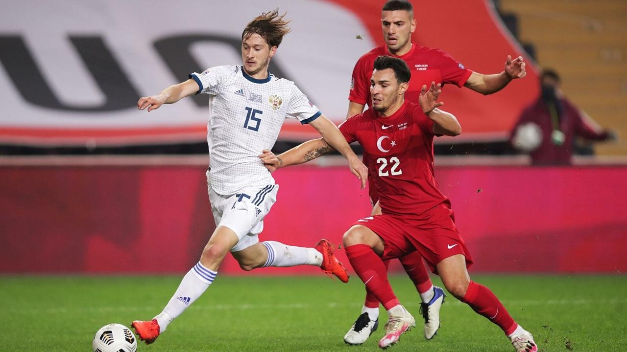 Турция - Россия, 3:2. Лига Наций