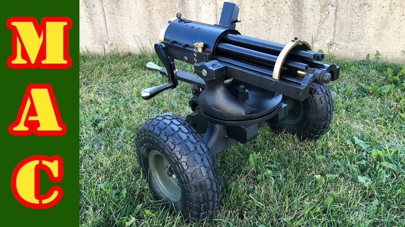New 9mm Gatling Gun from Tippmann Armory