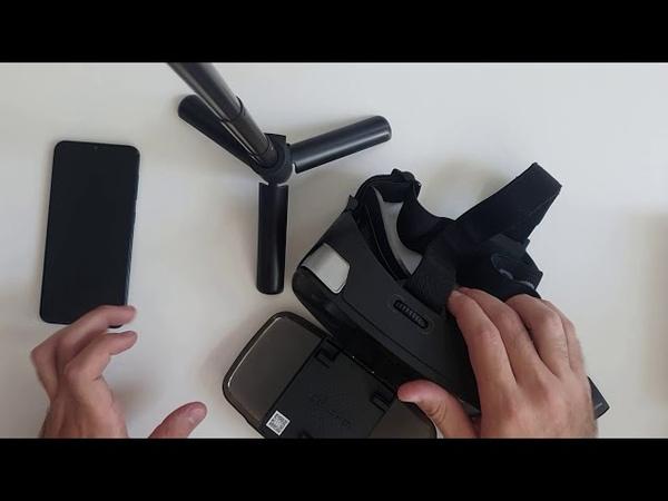 VR AR квантум Урок 6 Простейшие очки виртуальной реальности Homido