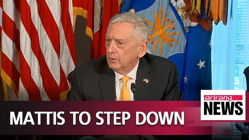 U S Defense Secretary James Mattis to resign next February