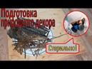 Природный декор для террариума, инсектария. Дезинфекция Гамма Ориона
