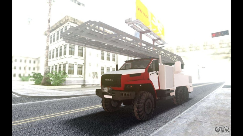 Урал некст пожарный кран для GTA San Andreas