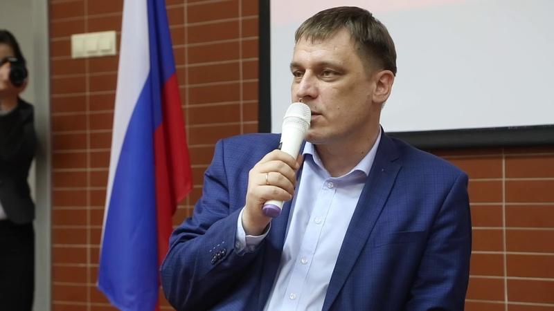 Диалог на равных с министром образования Новосибирской области Сергеем Федорчуком