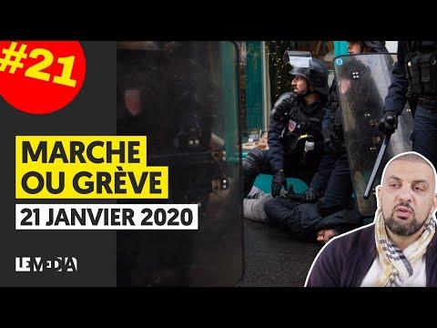 MARCHE OU GRÈVE 21 JUSQU'OÙ IRA LA RÉPRESSION