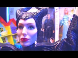 Disney Maleficent Dolls Maleficent Angelina Jolie Disney Princess Maleficent with Aurora and Diaval