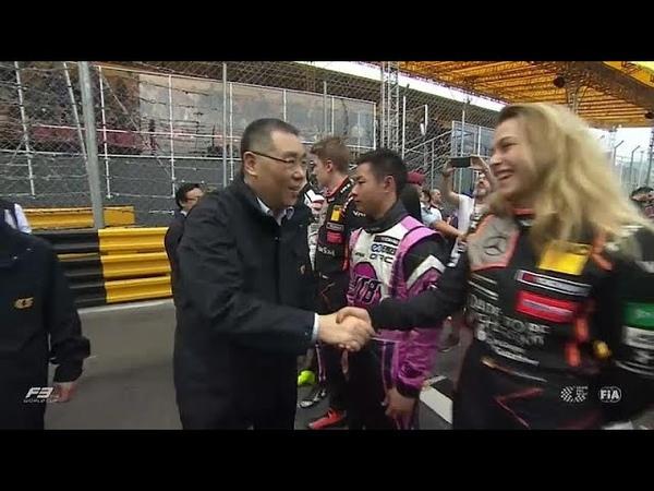 Sophia Flörsch sobrevive a acidente arrepiante no GP de Macau de F3