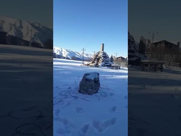 Подготовка к Новому году в туркомплексе Шира Бена-Юрт | 6 декабря 2019, Чечня