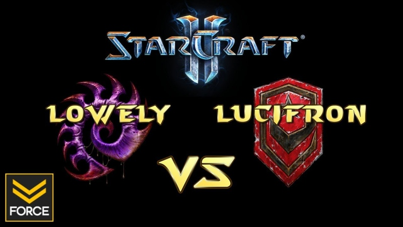 StarCraft 2 LoWeLy Z vs LucifroN T Commentary