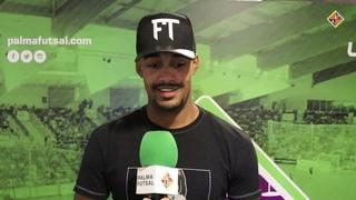 Higor analiza la temporada del Palma Futsal