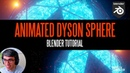 Create An Animated Dyson Sphere In Blender!