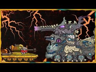 Trò chơi bắn xe tăng quái vật - Trận chiến chống lại đế chế Leviathan | Phim hoạt hình về xe tăng