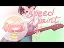 SpeedPaint чувиха с гитарой | PAINT ТOOL SAI
