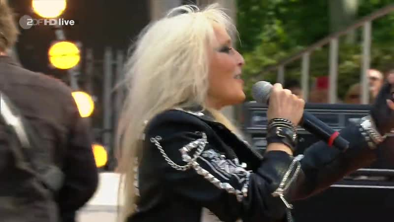 Doro Raise Your Fist In The Air ZDF Fernsehgarten 18.08.2019