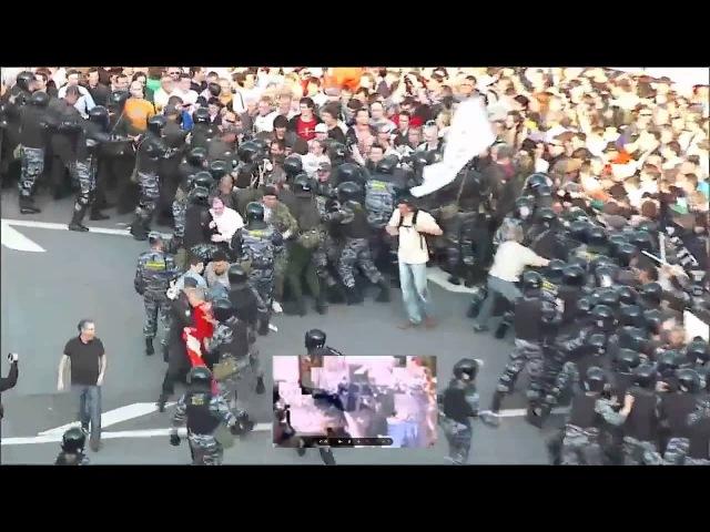 Как Сергей Удальцов организовывал массовые беспорядки
