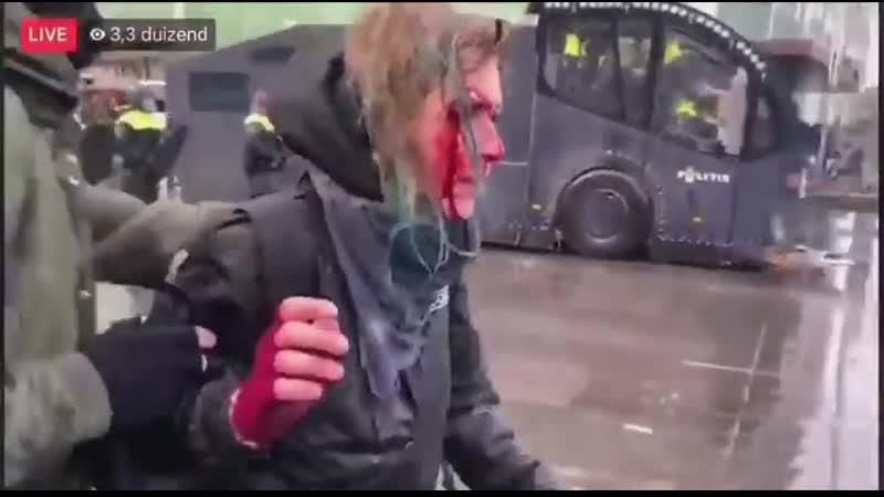 Une femme a été blessée au visage à Eindhoven aux Pays Bas après lutilisation du canon à e