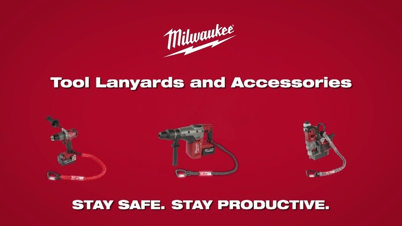 Milwaukee® Locking Tool Lanyards and Accessories