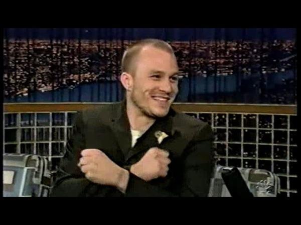 Heath Ledger Interview Conan OBrien 82005