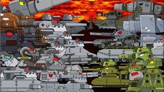 ВСЕ СЕРИИ БИТВА ГИБРИДОВ 2 СЕЗОН - Мультики про танки