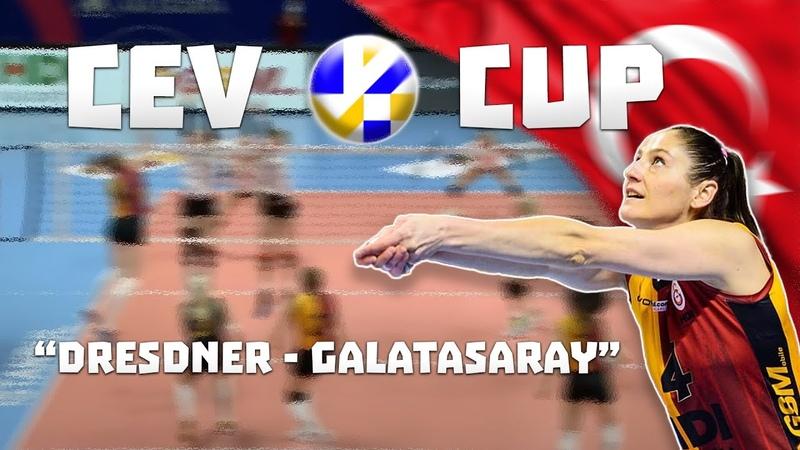 CEV CUP DRESDNER GALATASARAY