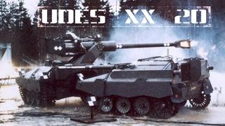 Шведский сочлененный танк «UDES XX 20»