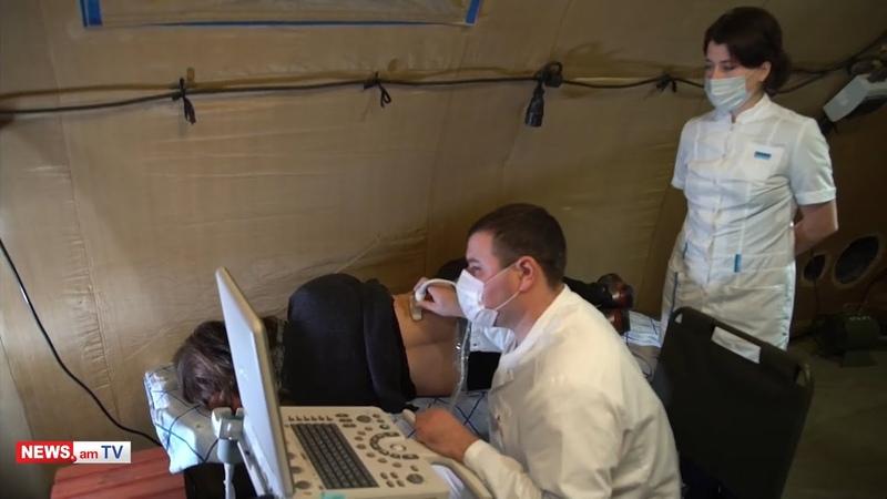 Ռուս բժիշկներն օգնում են Արցախի բնակչութ139