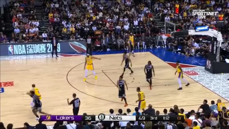 Los Angeles Lakers vs Brooklyn Nets - Full Game Highlights | October 12, 2019