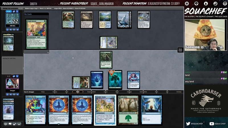 MODERN SQUIRREL TWIN DONATION DECKLIST WHY WIN WHEN YOU CAN MAKE INFINITE SQUIRRELS AND LOSE