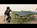 Slow Motion Table Tennis Demo: Spinny Loop by Elite Player 慢鏡示範 正手加轉弧圈球