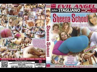 Анальная Школа Jada Stevens, Sheena Shaw - Sheena School