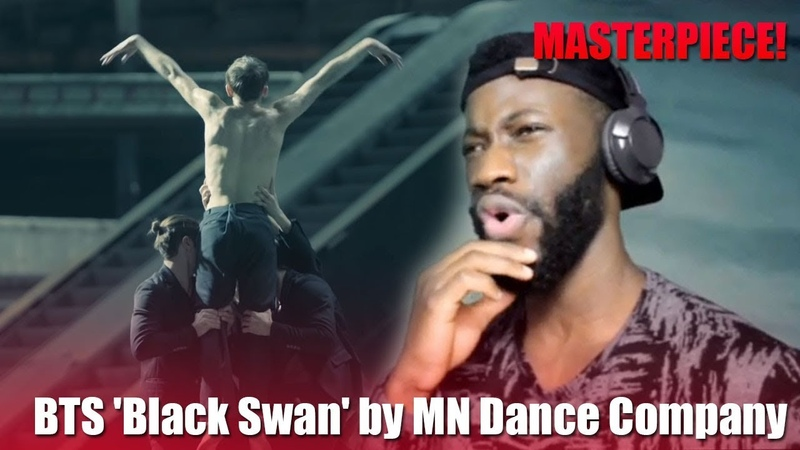 DANCER REACTS TO BTS (방탄소년단) Black Swan Art Film performed by MN Dance Company