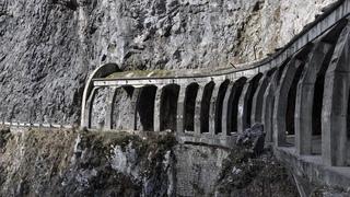 Старая дорога в КП -  Пасть Дракона  - Навалищенское ущелье