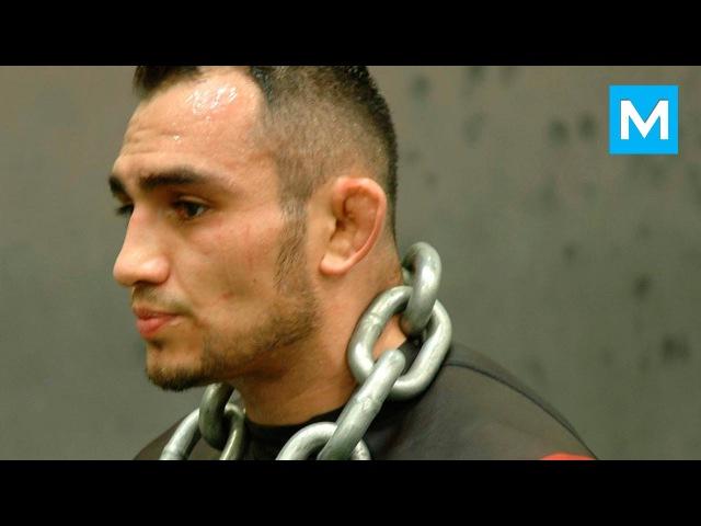 Tony Ferguson Training for Rafael Dos Anjos | Muscle Madness