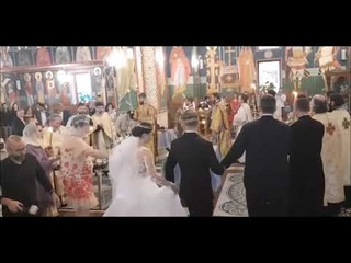 Orthodox Christian Wedding - The Dance of Prophet Isaiah