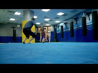 Mixed Wrestling from Moscow Miranda VS Sam