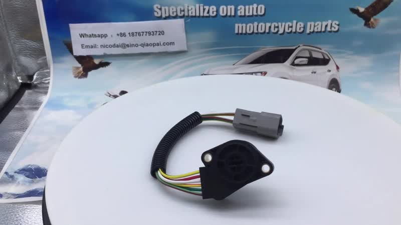 Throttle Position Sensor 20715967 3175130 82627979 85111239 3958226 For Volvo Trucks 6 Wires 6 Pin Well Quality