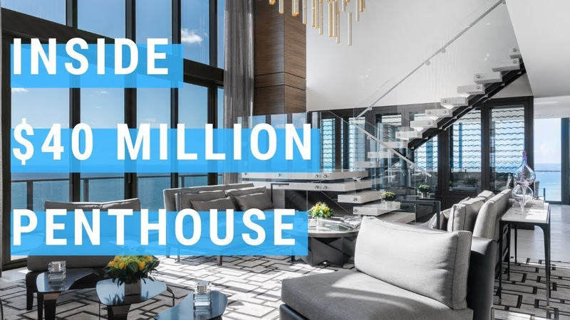 INSIDE A $40 MILLION DOLLAR MIAMI PENTHOUSE - STEP INSIDE!!