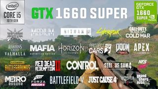 GTX 1660 SUPER Test in 25 Games in 2021