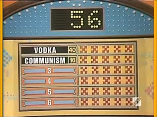 Family feud (100 к 1) something russia is famous for (1977)