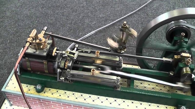 Dampfmaschinen Kolbendampfmaschine Flammenfresser Stationärmotoren EDHT 2014