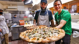 America's Ultimate PIZZA PARADISE!! 🍕 Best Pizza in America!? Zuppardi's + Frank Pepe in New Haven!