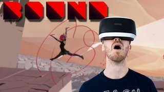 GORGEOUS VR PLATFORMER!   Bound #1 - Playstation VR Gameplay
