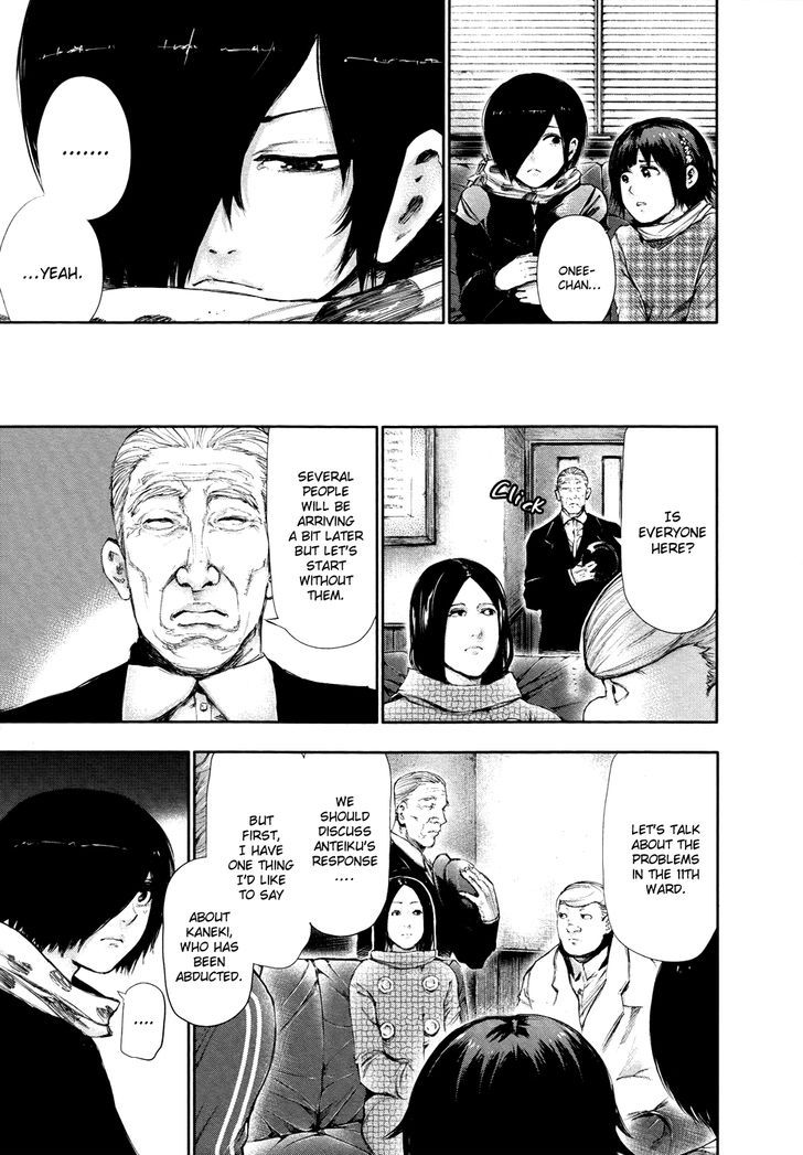 Tokyo Ghoul, Vol.6 Chapter 58 Crooked Smile, image #17