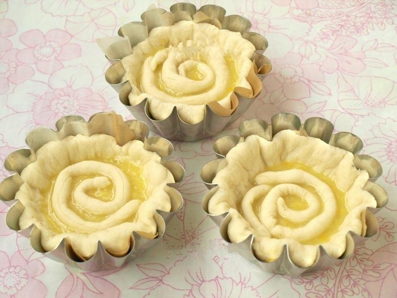 Булочки с лимонной начинкой, изображение №7