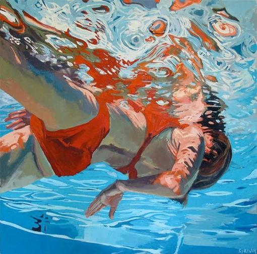 underwater paintings artwork - 736×729