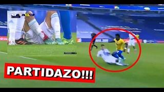 Así jugó Gonzalo Montiel vs Brasil ᴴᴰ